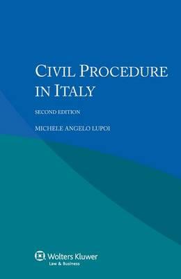 Civil Procedure in Italy (Paperback)
