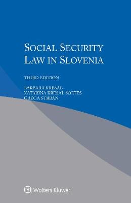 Social Security Law in Slovenia (Paperback)