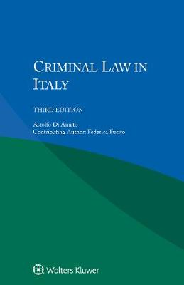 Criminal Law in Italy (Paperback)