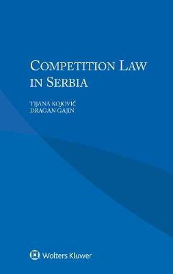 Competition Law in Serbia (Paperback)