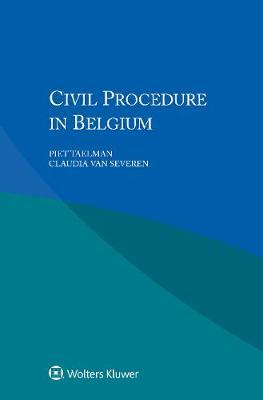 Civil Procedure in Belgium (Paperback)