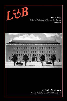 Artistic Research - Lier & Boog 18 (Paperback)