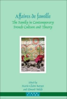 Affaires de famille: The Family in Contemporary French Culture and Theory - Faux Titre 292 (Paperback)