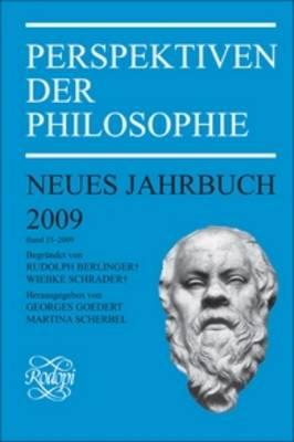 Perspektiven der Philosophie: Neues Jahrbuch. Band 35 - 2009 - Perspektiven der Philosophie, Neues Jahrbuch 35 (Paperback)
