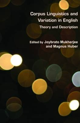 Corpus Linguistics and Variation in English: Theory and Description - Language and Computers 75 (Hardback)