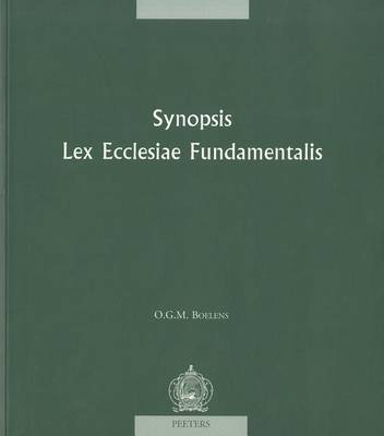 Synopsis Lex Ecclesiae Fundamentalis (Paperback)