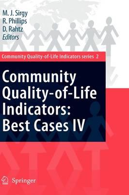 Community Quality-of-Life Indicators: Best Cases IV - Community Quality-of-Life Indicators 2 (Hardback)