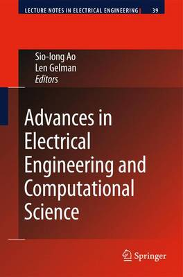 Advances in Electrical Engineering and Computational Science - Lecture Notes in Electrical Engineering 39 (Hardback)