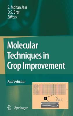 Molecular Techniques in Crop Improvement: 2nd Edition (Hardback)
