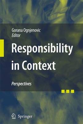Responsibility in Context: Perspectives (Hardback)