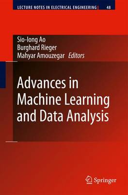 Advances in Machine Learning and Data Analysis - Lecture Notes in Electrical Engineering 48 (Hardback)