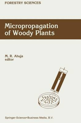 Micropropagation of Woody Plants - Forestry Sciences 41 (Paperback)