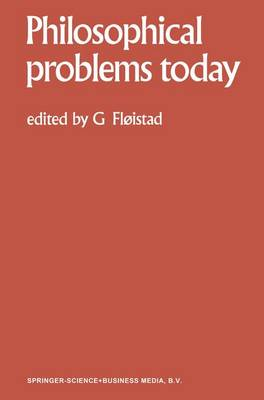 Philosophical Problems Today / Problemes Philosophiques d'Aujourd'hui - Philosophical Problems Today 1 (Paperback)