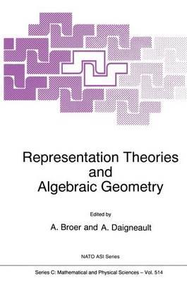 Representation Theories and Algebraic Geometry - NATO Science Series C 514 (Paperback)