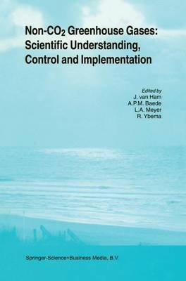 Non-CO2 Greenhouse Gases: Scientific Understanding, Control and Implementation: Proceedings of the Second International Symposium, Noordwijkerhout, The Netherlands, 8-10 September 1999 (Paperback)