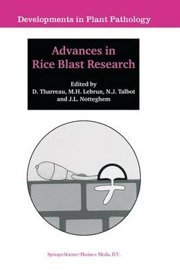 Advances in Rice Blast Research: Proceedings of the 2nd International Rice Blast Conference 4-8 August 1998, Montpellier, France - Developments in Plant Pathology 15 (Paperback)