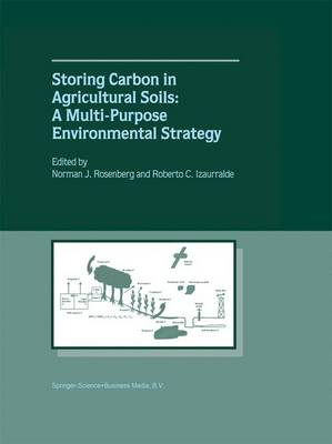 Storing Carbon in Agricultural Soils: A Multi-Purpose Environmental Strategy (Paperback)