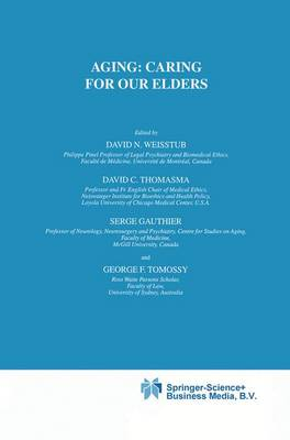 Aging: Caring for Our Elders - International Library of Ethics, Law, and the New Medicine 11 (Paperback)