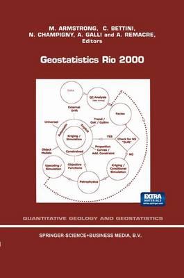 Geostatistics Rio 2000: Proceedings of the Geostatistics Sessions of the 31st International Geological Congress, Rio de Janeiro, Brazil, 6-17 August 2000 - Quantitative Geology and Geostatistics 12 (Paperback)