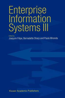 Enterprise Information Systems III (Paperback)