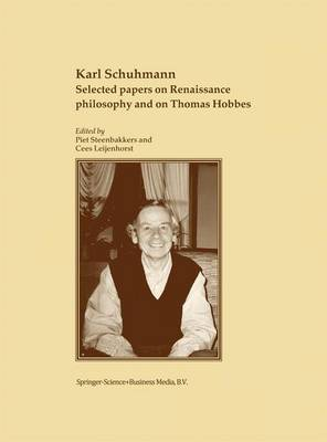 Selected papers on Renaissance philosophy and on Thomas Hobbes (Paperback)