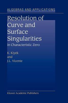 Resolution of Curve and Surface Singularities in Characteristic Zero - Algebra and Applications 4 (Paperback)