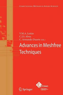 Advances in Meshfree Techniques - Computational Methods in Applied Sciences 5 (Paperback)