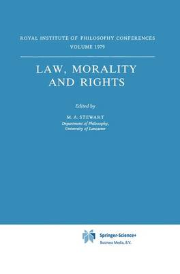 Law, Morality and Rights - Synthese Library 162 (Paperback)