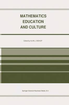 Mathematics Education and Culture (Paperback)