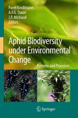 Aphid Biodiversity under Environmental Change: Patterns and Processes (Hardback)