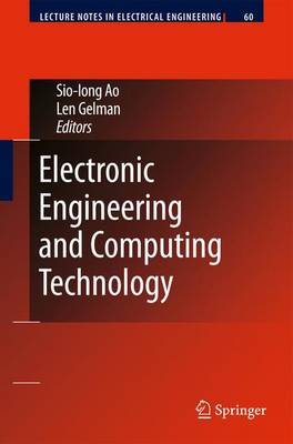 Electronic Engineering and Computing Technology - Lecture Notes in Electrical Engineering 60 (Hardback)