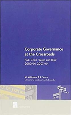 Corporate Governance at the Crossroads (Paperback)