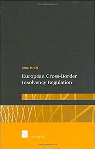 European Cross-Border Insolvency Regulation (Hardback)