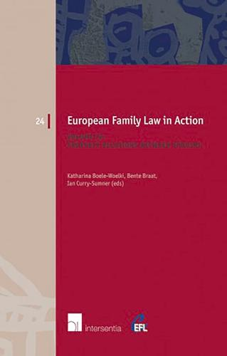 European Family Law in Action: Property Relations Between Spouses Volume IV - European Family Law 24 (Paperback)