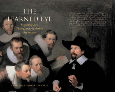 The Learned Eye: Regarding Art, Theory and the Artist's Reputation (Paperback)