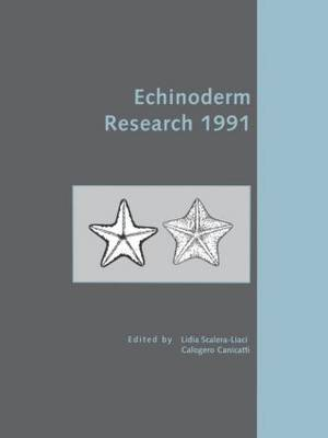 Echinoderm Research 1991 (Hardback)