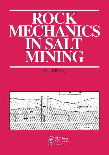 Rock Mechanics in Salt Mining (Paperback)