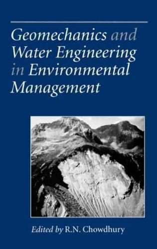 Geomechanics and Water Engineering in Environmental Management (Hardback)