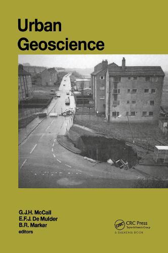 Urban Geoscience: AGID Special Publication nr.20 (Hardback)
