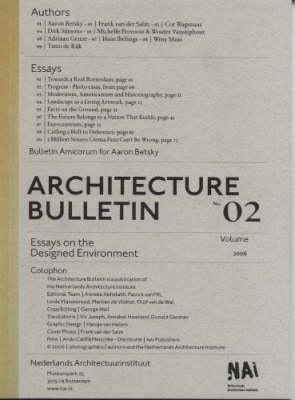 Architecture - Bulletin No. 2 (Paperback)