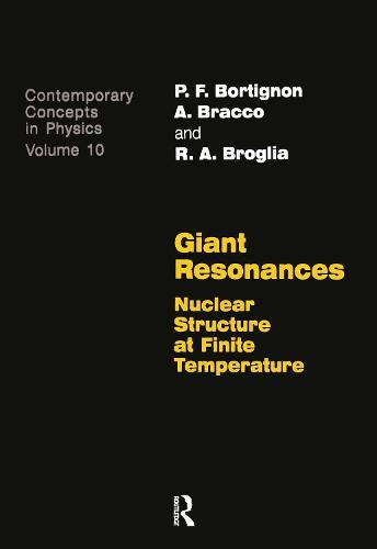 Giant Resonances (Paperback)
