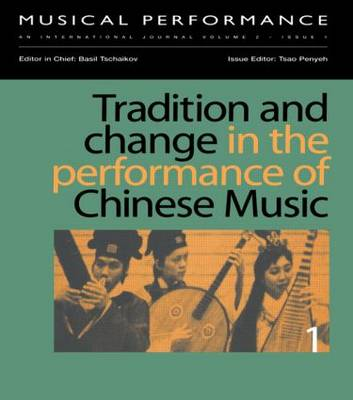 Tradition & Change Performance (Paperback)