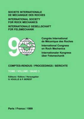 Ninth International Congress on Rock Mechanics (Hardback)