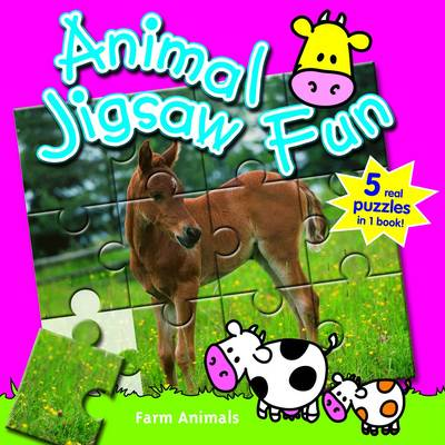 Baby Animals: Animal Jigsaw Fun (Board book)