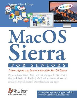Mac OSX for Seniors: The Perfect Computer Book for People Who Want to Work with Macos (Paperback)