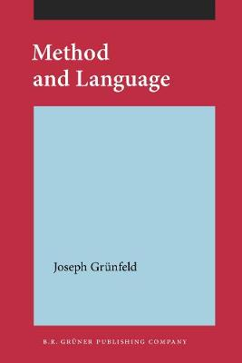 Method and Language (Paperback)