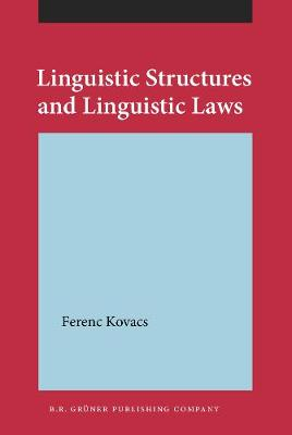 Linguistic Structures and Linguistic Laws (Hardback)