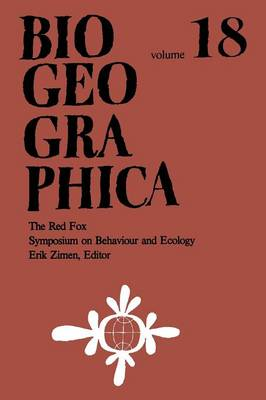 The Red Fox: Symposium on Behaviour and Ecology - Biogeographica (Paperback)