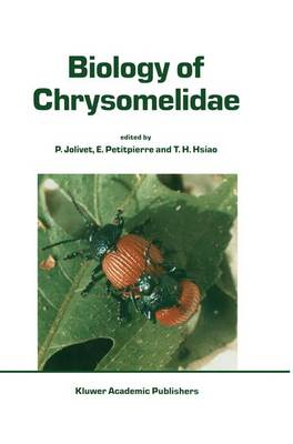 Biology of Chrysomelidae - Series Entomologica 42 (Hardback)