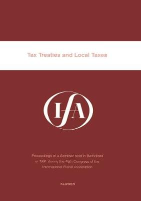 IFA Tax Treaties and Local Taxes (Paperback)